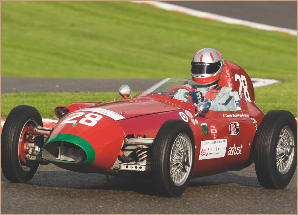 One-seater racing car : Formula Junior