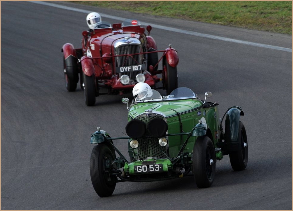 Pre-War Sports Car are back